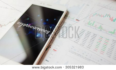 Investment In Cryptocurrencies, Concept. Statistics And Reports, Analysis Of The Cryptocurrency Mark