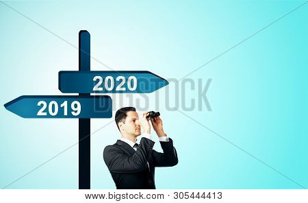 New Year And Future Concept