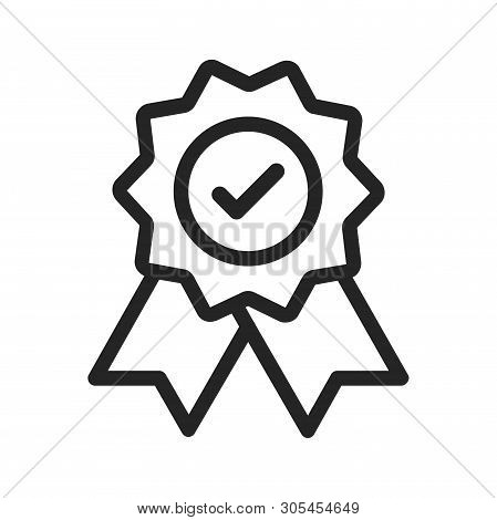 Quality Icon Isolated On White Background. Quality Icon In Trendy Design Style. Quality Vector Icon