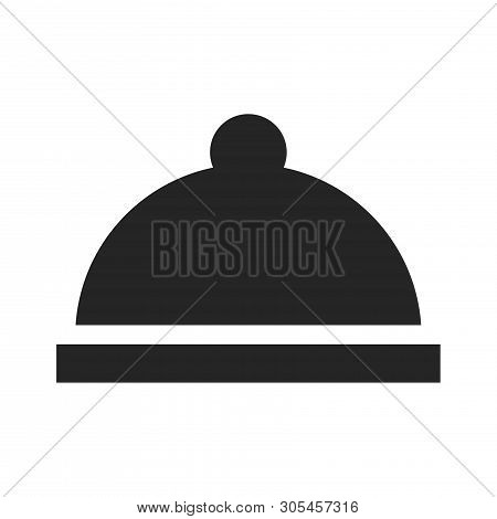 Food Cover Icon Isolated On White Background. Food Cover Icon In Trendy Design Style. Food Cover Vec