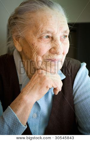 Portrait of an old woman  Portrait of an old woman from Ukraine Portrait of an old wo