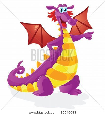 dragon cartoon character