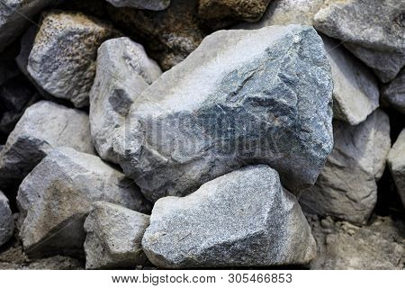 Stone Texture Background. Detail Of Sand Stone Texture. Natural Slate Stone Background Texture. Ston