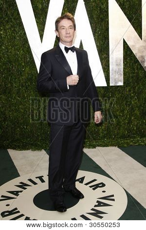 LOS ANGELES - FEB 26:  Martin Short arrives at the 2012 Vanity Fair Oscar Party  at the Sunset Tower on February 26, 2012 in West Hollywood, CA