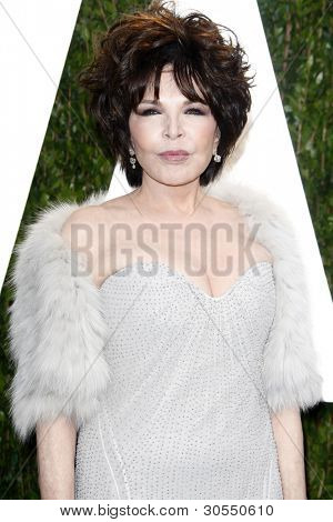 LOS ANGELES - FEB 26:  Carole Bayer Sager arrives at the 2012 Vanity Fair Oscar Party  at the Sunset Tower on February 26, 2012 in West Hollywood, CA