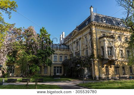 Sofia, Bulgaria - May 3, 2019: Department Of National Art Gallery And Etnographic Museum In Former K