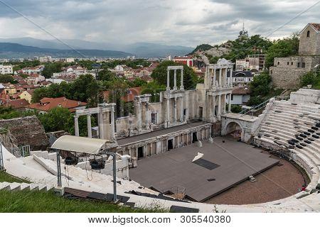 Roman Theatre Of Philippopolis In Plovdiv, Bulgaria