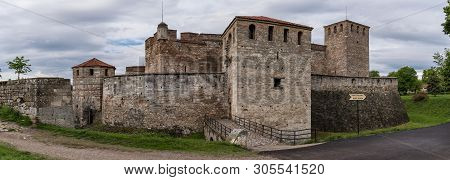 Panorama Of Baba Vida Is A Medieval Fortress In Vidin In Northwestern Bulgaria And The.town's Primar