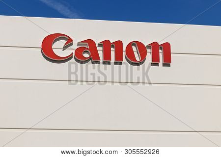Las Vegas - Circa June 2019: Canon Solutions Office. Canon Manufactures Photography, Imaging, And Op