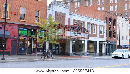 Burlington, Vermont/united States - October 29: The Flynn Theater In Burlington, Vermont, [october 2