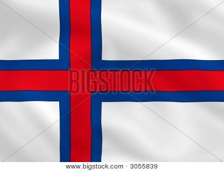 Flag Of Faeroe Island