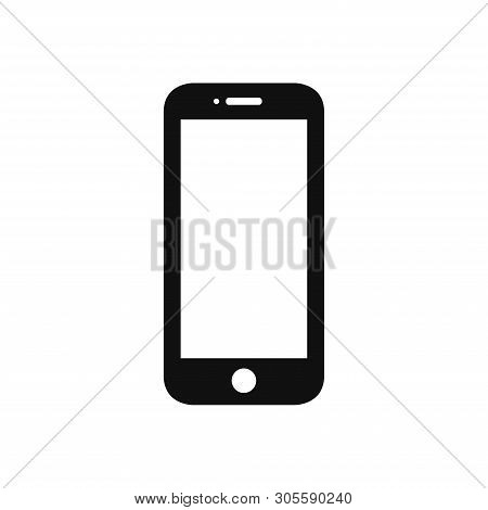 Mobile Phone Icon Isolated On White Background. Mobile Phone Icon In Trendy Design Style. Mobile Pho