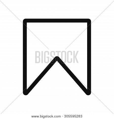 Bookmark Icon Isolated On White Background. Bookmark Icon In Trendy Design Style. Bookmark Vector Ic