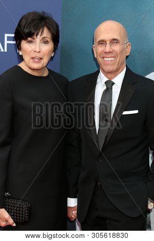LOS ANGELES - JUN 6:  Marilyn Katzenberg, Jeffrey Katzenberg at the  AFI Honors Denzel Washington at the Dolby Theater on June 6, 2019 in Los Angeles, CA