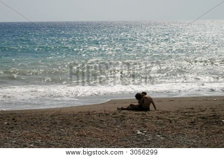 Cyprus  - Lovers On The Beach