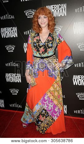 Christina Hendricks at the Los Angeles premiere of 'American Woman' held at the ArcLight Cinemas in Hollywood, USA on June 5, 2019.