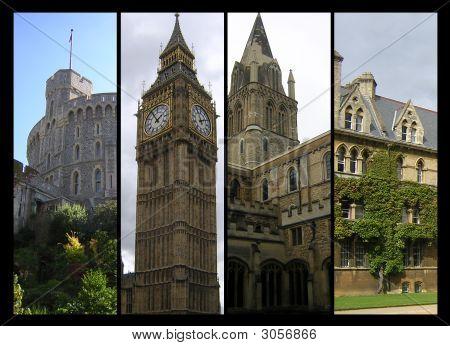 Photo Collage Of British