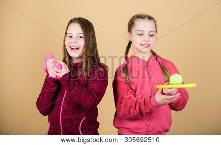 Ways To Help Kids Find Sport They Enjoy. Friends Ready For Training. We Love Sport. Child Might Exce