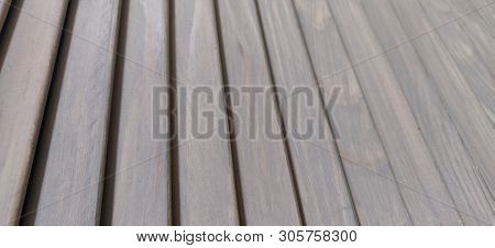 Texture Of White Blinds. Wooden Background. Planks Of Wood As Wooden Background Texture. Wooden Log