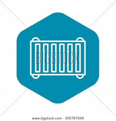 Industrial Scaffold Icon. Outline Illustration Of Industrial Scaffold Vector Icon For Web Design Iso
