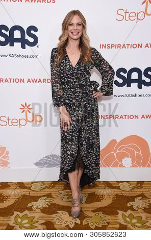 LOS ANGELES - MAY 31:  Sarah Jane Morris arrives for the Inspiration Awards benefiting Step Up on May 31, 2019 in Los Angeles, CA