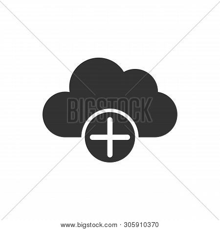 Cloud Computing Icon Isolated On White Background From Interaction Set Collection. Cloud Computing I