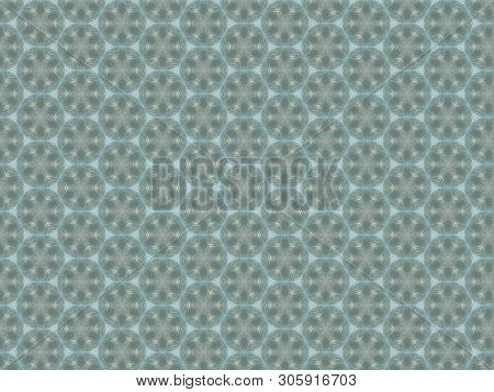 Absract geometrical pattern fascinating corrugated plastic semi transparent glass with a pattern poster