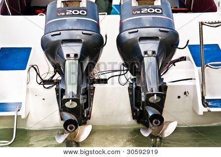 Speed Boat  Engine.
