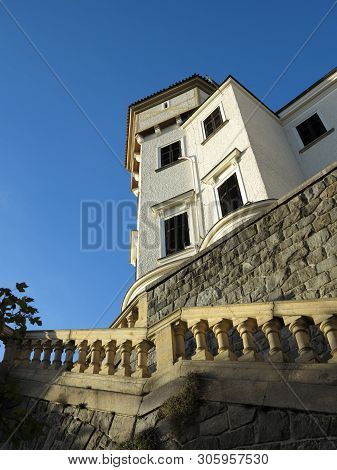 State Castle Konopiste, Detail With Stairs, Czech Republic