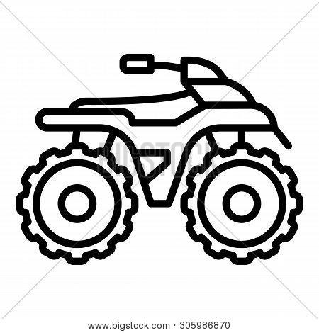 Side Quad Bike Icon Vector Photo Free Trial Bigstock