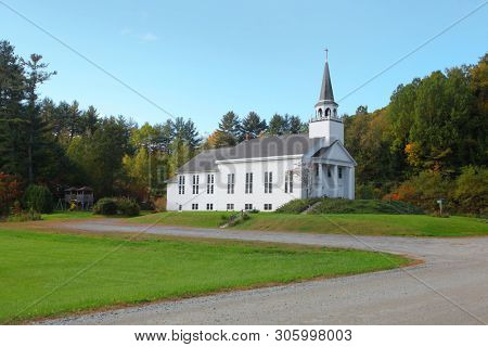 Church complex in rural Vermont