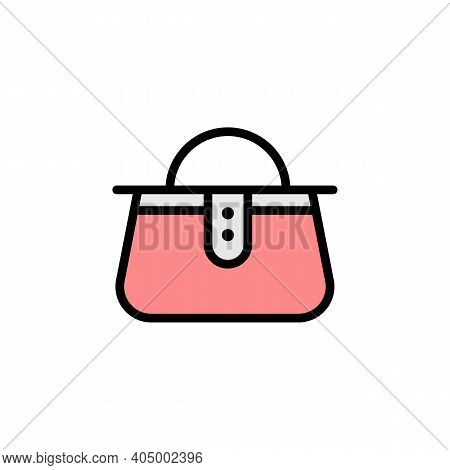 Mothers Day Handbag Outline Icon. Element Of Mothers Day Illustration Icon. Signs And Symbols Can Be