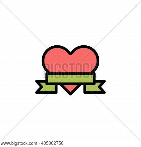Mothers Day Heart Outline Icon. Element Of Mothers Day Illustration Icon. Signs And Symbols Can Be U