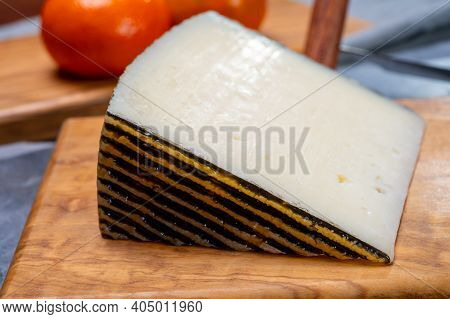 Cheese Collection, Piece Of Hard Spanish Iberico Cheese