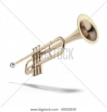 Gold trumpet