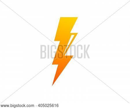Flash Thunder Bolt Illustration Vector