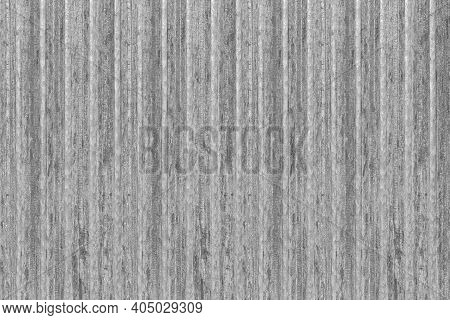 New Silver Galvanized Fence With Pattern Texture And Background Seamless