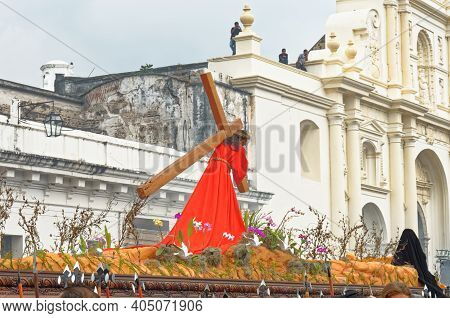 Good Friday Procession - Guatemala, Antigua