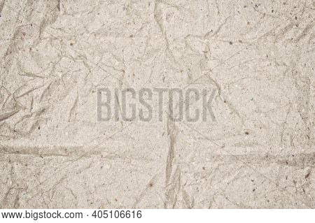 Old Grainy Paper Grunge Texture Background Sheet Of Recycle Paper Tissue , Paper Textures Are Perfec