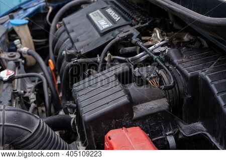 Honda Ima Engine System In A Used Hybrid Car