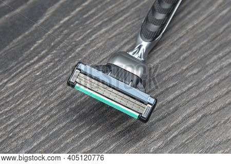 Manual Face Shaving Machine. Stubble Blade. Depilation