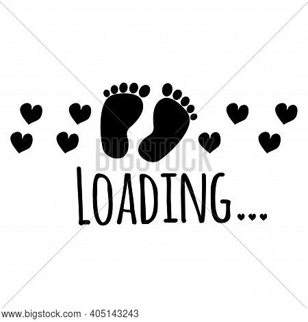 Baby, Birth, Footprint, Download, Concept, Loading, Kid, Happy, Greeting, Funny, Family, Childhood,
