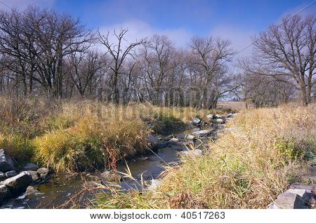 Pipestone National Monument And Creek
