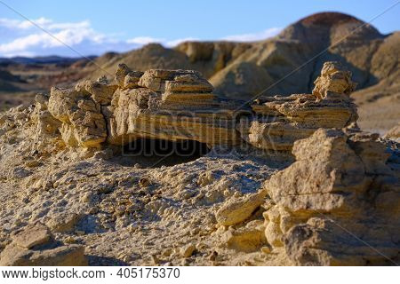 Plateau near the lake Khyargas Nuur