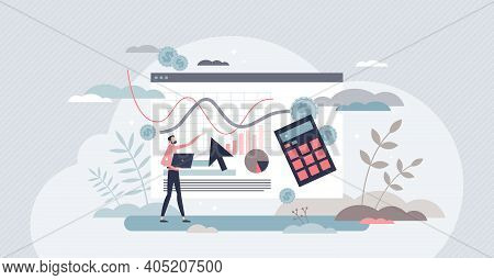 Cost Per Acquisition Or Cpa As Advertising Measurement Tiny Person Concept