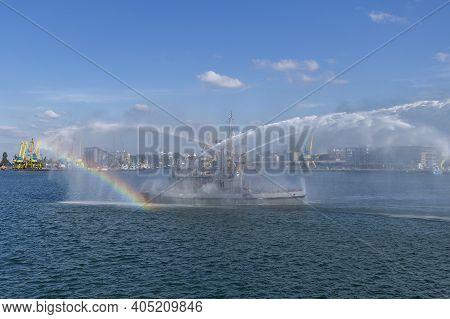 Black Sea International Naval Exercise Breeze 2018 Burgas, Bulgaria 7.19.18. Warships, Planes And He