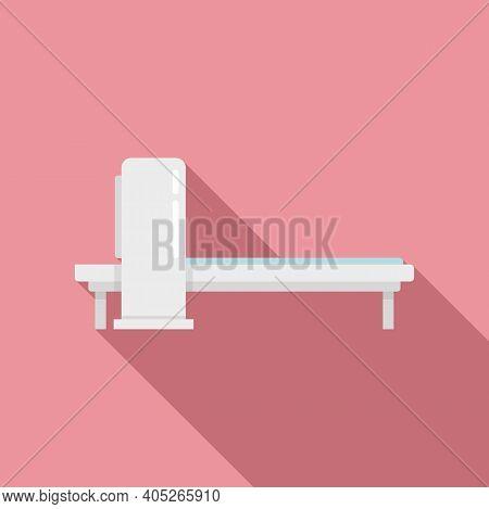Magnetic Resonance Imaging Icon. Flat Illustration Of Magnetic Resonance Imaging Vector Icon For Web
