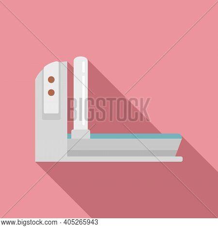 Magnetic Resonance Imaging Device Icon. Flat Illustration Of Magnetic Resonance Imaging Device Vecto