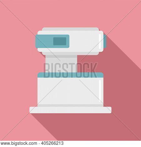 Modern Magnetic Resonance Imaging Icon. Flat Illustration Of Modern Magnetic Resonance Imaging Vecto