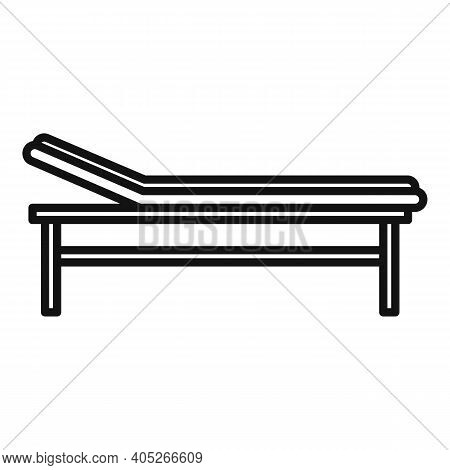 Magnetic Resonance Imaging Bed Icon. Outline Magnetic Resonance Imaging Bed Vector Icon For Web Desi